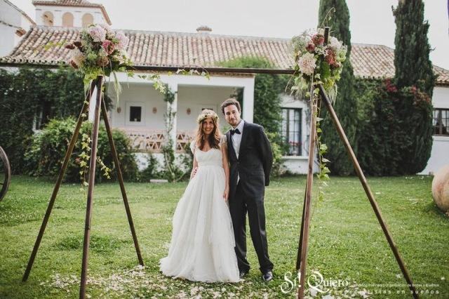 Decoracion Vintage Boda Civil ~ La novia del vestido rom?ntico  Las bodas de Tatin